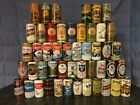 Sharp Lot of 48 All Crimped Steel 12oz. Pull Tab Beer Cans (Lot #111)
