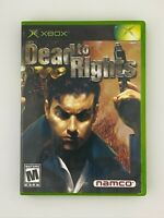 Dead To Rights - Original Xbox Game - Tested