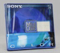 Sony Color Collection MiniDisc MD 74 Neuf (Réf#E-956)