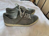 Mephisto City Hiker Gray Leather US 9 EU 8.5 Comfort/Walking Shoe Oxford Air Jet