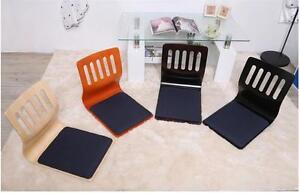 Wood Floor Chair Tatami chair Japanese Zaisu chair  Asian Legless Seat