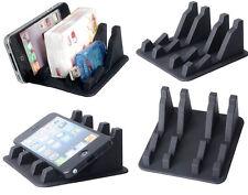 Grey Anti Slip Mat Mobile Mount Silica Gel Rack Type Holder For All iPhone