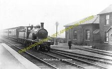 Micklefield Railway Station Photo. Garforth to Church Fenton. (6)