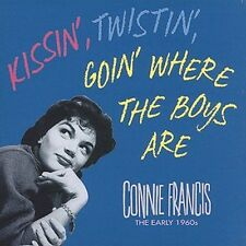 Kissin', Twistin', Goin' Where the Boys Are [Box] by Connie Francis (CD, Apr-1996, 5 Discs, Bear Family Records (Germany))