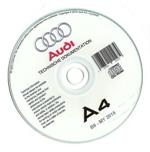 Audi A4 B9 (2015-2020)  manuale officina workshop manual