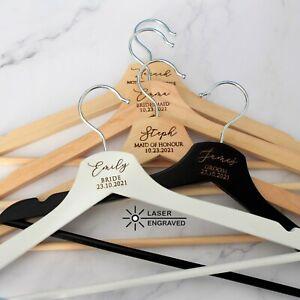 Personalised Bridesmaid Gift, Bridesmaid Proposal, Bridal Dress Hanger, Wedding