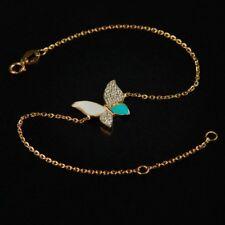 Butterfly gold bracelet, a modern 18K gold beautiful handcrafted piece