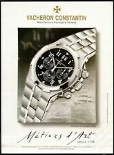 VACHERON CONSTANTIN Geneve Watches Since 1775 - 2004 Print Ad