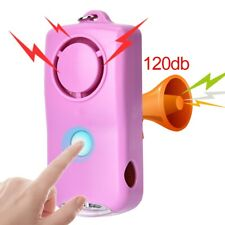 Alarm Emergency Safety Self Defense Anti-Attack With Light Keychain
