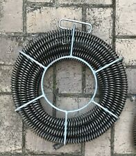 Plumber Snakes Drain 10m Of 22mm Cables