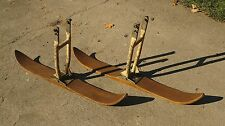 Vintage German Skis for Car Automotive Motorcycle Snowmobile