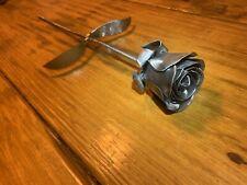 Handmade Welded Metal Rose Steel Flower Valentines Day Gift