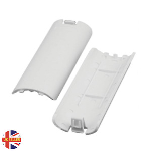 Wii Remote Battery Cover Back of Controller - x2 Replacement cover - White