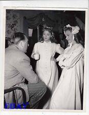 Lana Turner Donna Reed Director Victor Saville VINTAGE Photo candid on set