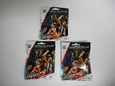 WWE LEGENDS WALL WALKERS BLIND BAG LOT OF 3 RARE CRAWLERS WCW WWF
