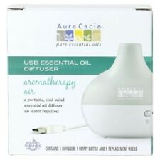 NEW Aura Cacia USB Essential Oil Aromatherapy Air Diffuser
