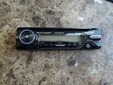 Sony Mex-N5200Bt Detachable Face Plate Faceplate Only
