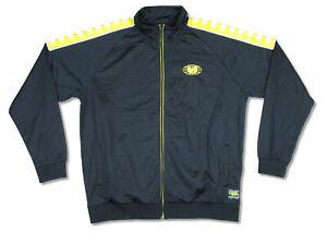 Wu Tang Clan Wu Wear Gold Globe Track Jacket Sweatshirt New Official