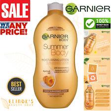 Garnier Summer Body Dark Gradual Tan Vegan Lotion Hydration Apricot Oil 400ml
