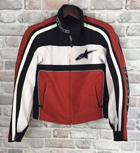Alpinestars ladies stella jacket Small Textile Armour On The Shoulders And Elbow