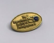 International Society Photographers ISP 10K GF Gold Filled Pin Lapel Photography