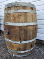 More details for old reclaimed used rustic wine / whiskey / scotch whisky oak wooden barrel cask