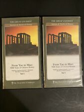 From Yao to Mao 5000 Years of Chinese History the Great Courses DVD Set Part 1-2