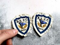 Pair of Vintage Sailing Patches and Badges BSYC Berlin