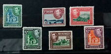 ST VINCENT 1938 - 1947 KGVI  LOT OF 6 STAMPS VF    B088