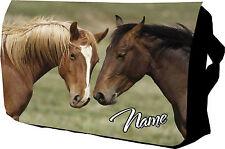 Personalizzata Cavallo Carino Collegio / Messenger / SHOLDER / Scuola / Borsa Laptop