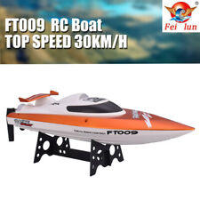 Feilun FT009 2.4G 4CH 30km/h RC Boat With Rectifying Function Water Cooling