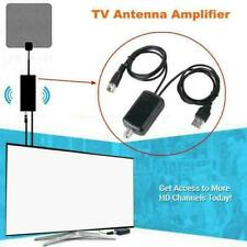 HDTV Antenna Amplifier Signal Booster Cable TV High Boost Gain Channel Q6R4