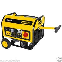 Stanley SG 7500W Inverter Generator Electric Starter Inc Wheels&Handles 3 Phase