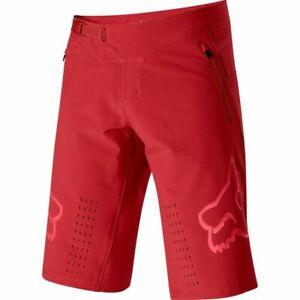 Delicate FOX MTB Shorts Dirt Bike Riding Mountain Bicycle Downhill Racing Shorts