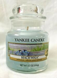 Yankee Candle - Small Jar 3.7oz - BEACH WALK SCENT  - NEW
