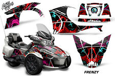 AMR Racing Can Am BRP RT-S Spyder Graphic Kit Wrap Roadster Decals 2014+ FRENZY