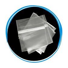 NEW 100 OPP Resealable Plastic Wrap Bags for Standard 5.2mm CD Slim Jewel Case
