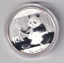 China Panda 30 g1 oz Silber 2017