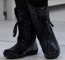 Sporto® Jamie Waterproof Lace-Up Boot, Black 7.5W