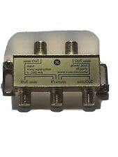 GE Coaxial Splitter 1:4 5-2500 MHz Used