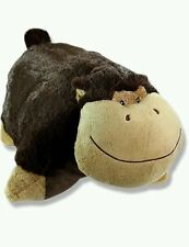 PILLOW PETS PEE-WEE Stuffed Silly Monkey Brown animal toy doll  Plush  11""