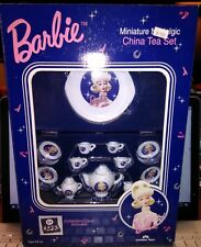 1996 Barbie China Tea Party Set W/ Case New In Box