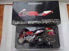 122011221 MINICHAMPS 1/12 DUCATI 996R Superbike WSB 2001-Troy Bayliss a vélo