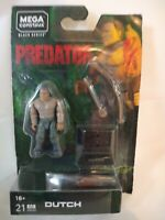 Mega Construx Predator Dutch Wave 2  Figure Black Series Bow Arrow NEW