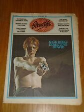 STREET LIFE VOL 1 #6 1976 JANUARY 10-23 DAVID BOWIE SANTANA LEO SAYER WYATT