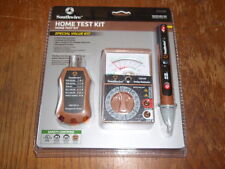 Southwire Home Test Kit - Multimeter, Non-contact AC detector, Receptacle tester