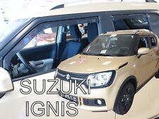 SUZUKI IGNIS II 5 DOOR 2016-UP  WIND DEFLECTORS 4pc HEKO TINTED