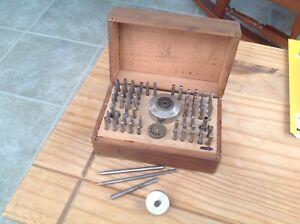 Vintage staking tool set