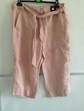 Women's Marks & Spencer Cropped Capri Mid Rise Trousers Size 18