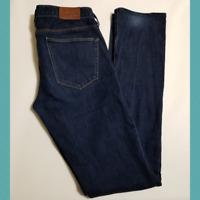 Madewell 'Rail Straight' Women's Dark Wash Jeans | Size 27 x 34 | Stretch Denim